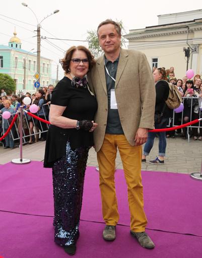 Лариса Голубкина и Андрей Соколов