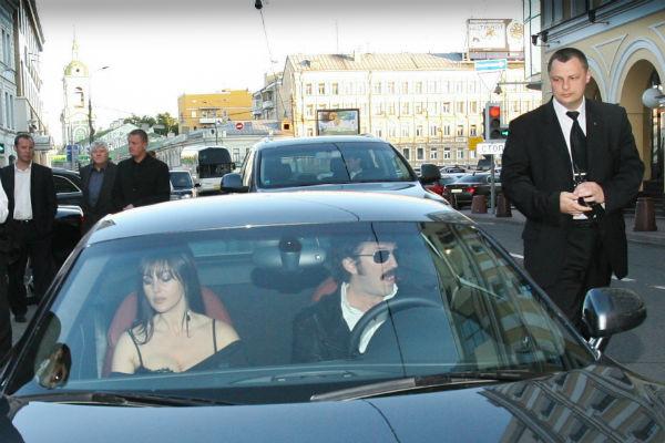 Моника Белуччи и Венсан Кассель приезжали в Москву в 1997 году, чтобы провести романтические выходные