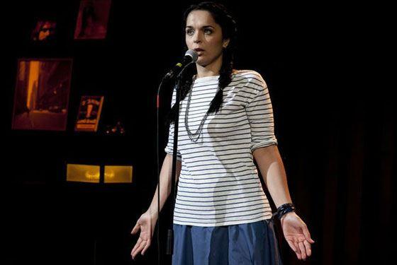 Артистка рассказывает жизненные истории на собственных концертах