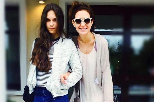 Екатерина Климова с дочерью Лизой