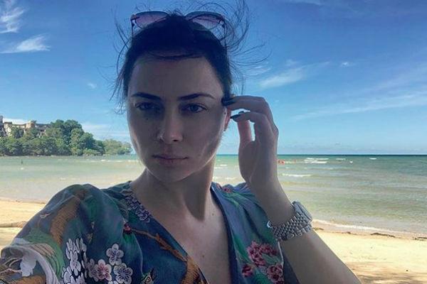 Настасья Самбурская, как и Гордон, отдыхает в Тайланде