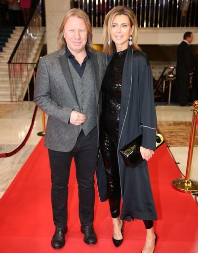 Виктор Дробыш с женой
