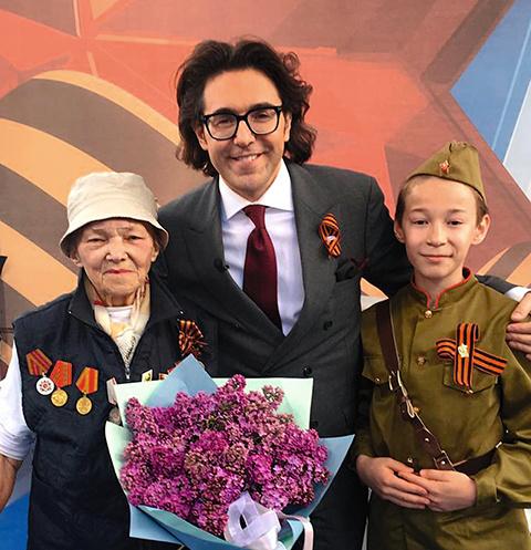 Благодаря внуку Инна Тюрина оказалась на Параде Победы, где встретилась со своим освободителем Иваном Мартынушкиным