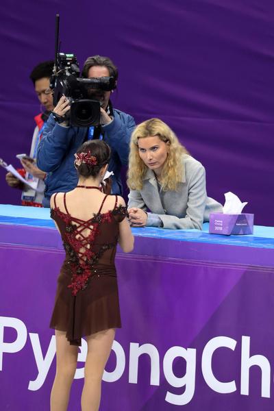 Несмотря на скандал, тренер и спортсменка смогли установить дружеское общение