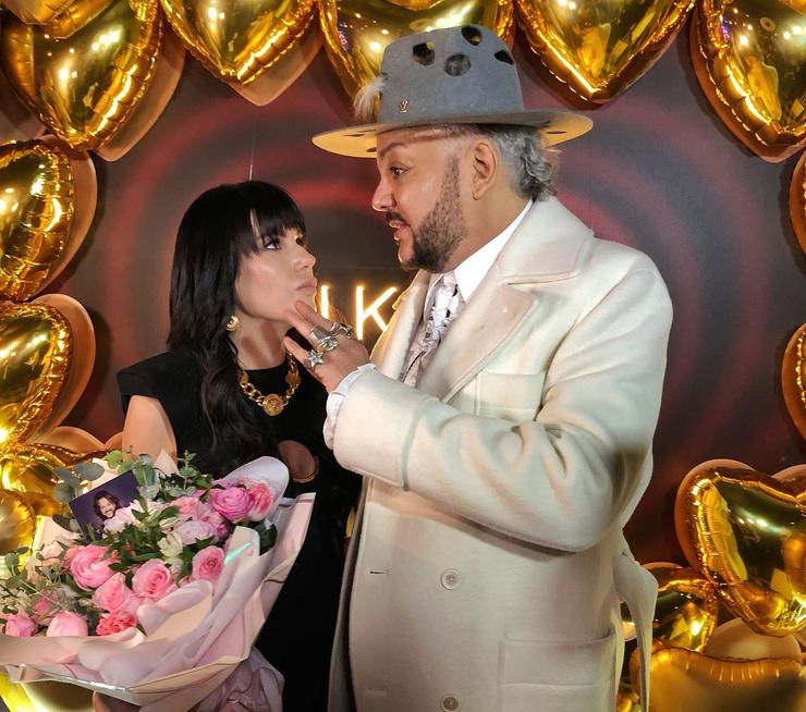Катя Гусева и Филипп Киркоров