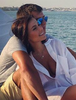 Лена Темникова с мужем