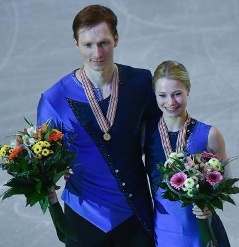 Владимир Морозов и Евгения Тарасова