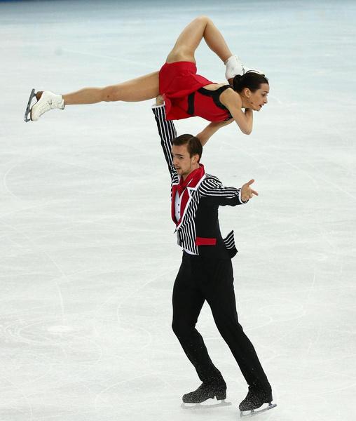 Фигуристка добилась наибольших спортивных результатов в паре с Федором Климовым