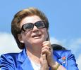 Валентина Терешкова отметила космический юбилей