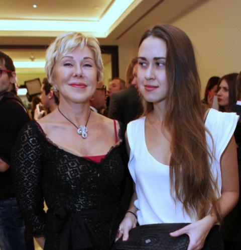 Любовь Успенская и Татьяна Плаксина