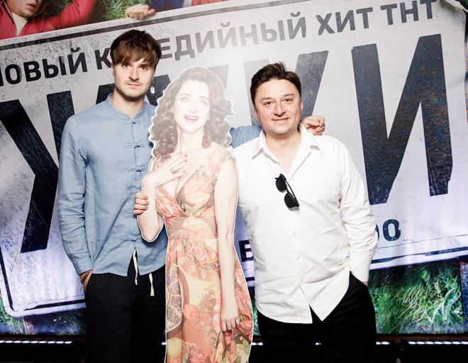 Максим Лагашкин с сыном