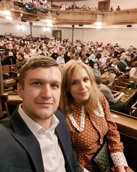 Анатолий Руденко с супругой Еленой Дудиной