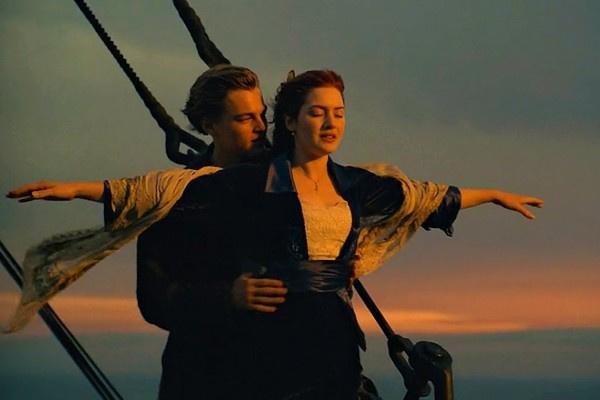 Леонардо Ди Каприо и Кейт Уинслет сыграли романтичных героев