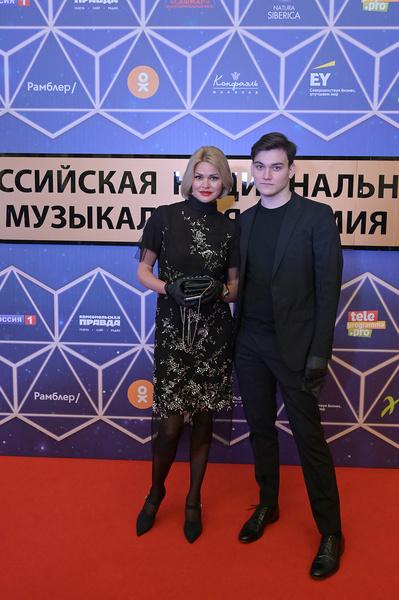 Ирина Круг с сыном Александром