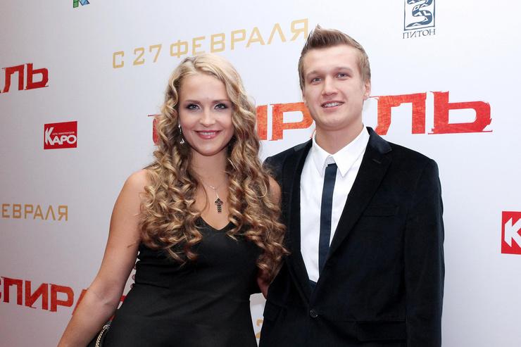 Через год после знакомства Дудина и Руденко поженились, а в 2012-м стали родителями дочки Милены