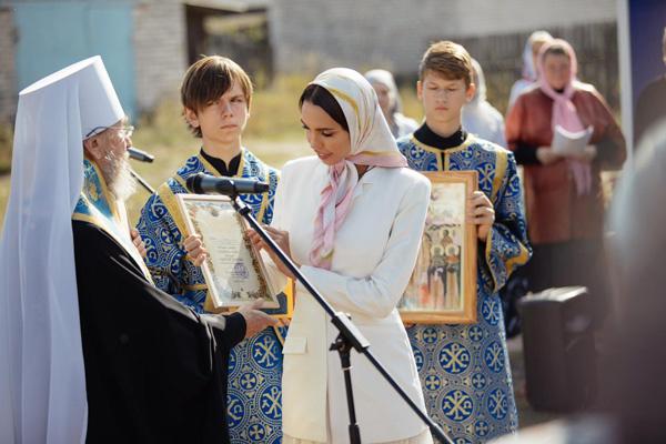 Ксения Царицына построит храм в Ульяновске