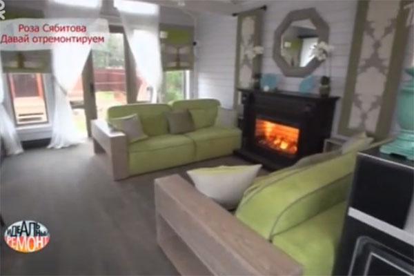 На мягких диванах гости Розы Сябитовой будут отдыхать после обильного застолья