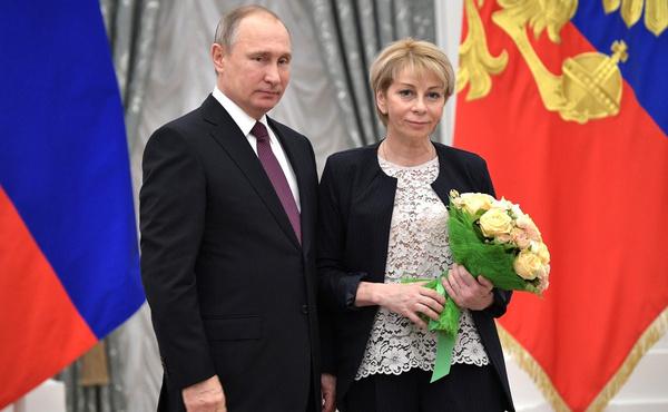 В 2016 году Елизавета Глинка получила награду от президента