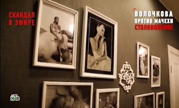 В обновленной квартире висят фотографии любимой дочери