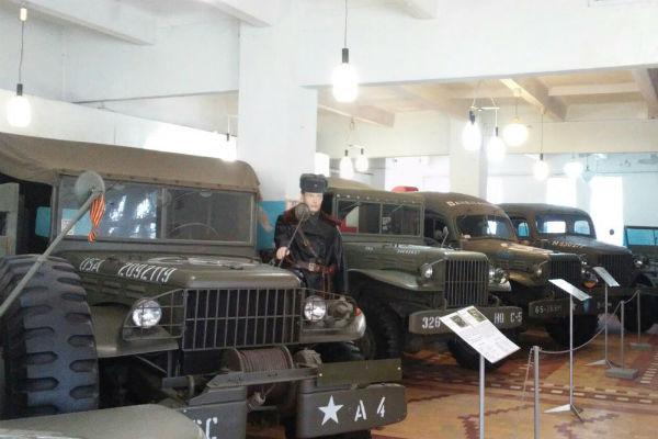 Музей собрал экспонаты автопрома