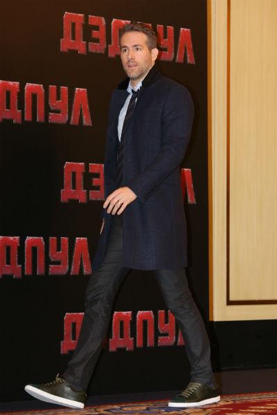 Актер впервые приехал в Россию