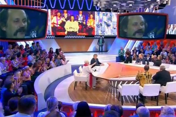 Часть программы была посвящена творчеству ВИА «Песняры»
