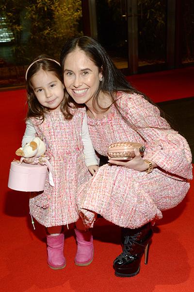 Актриса с дочкой Дианой