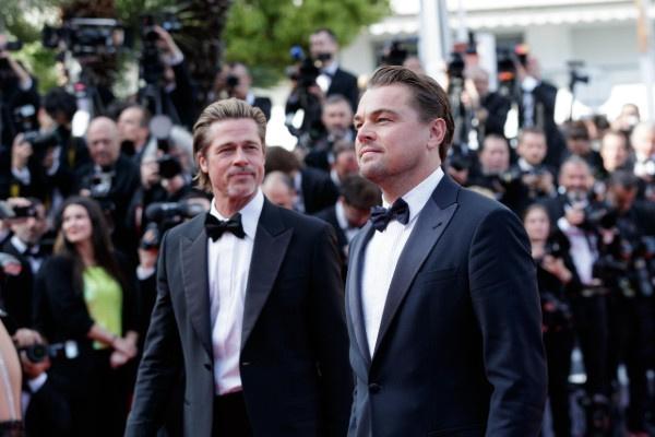 Брэд Питт и Леонардо Ди Каприо выбрали черные костюмы для фестиваля