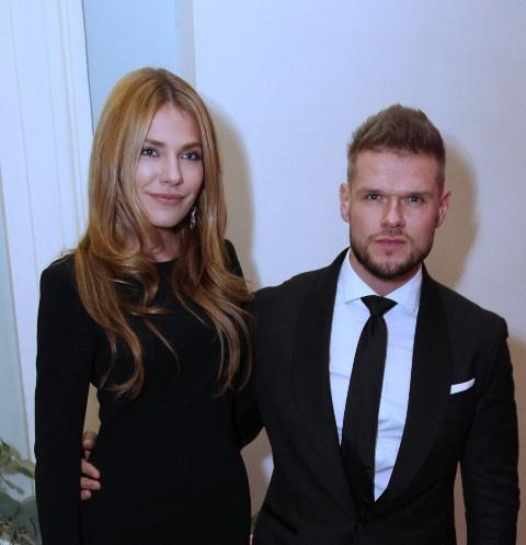 Антонина Паперная и Владимир Яглыч