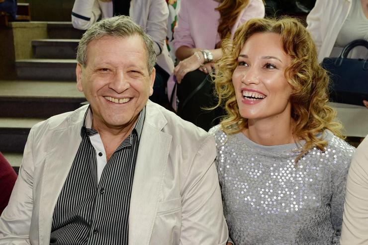 В третий раз Грачевский женился на актрисе Екатерине Белоцерковской