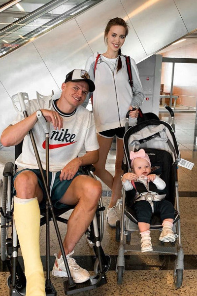 Из-за травмы ноги Тарасов на два месяца вышел из строя