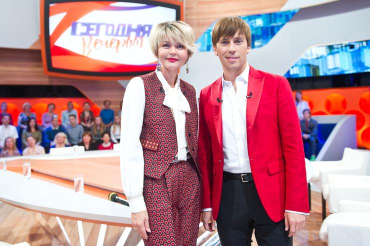 Юлия Меньшова и Максим Галкин