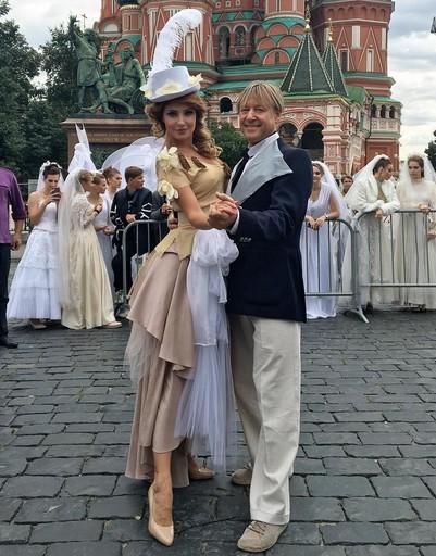 Анастасия Макеева и Дмитрий Харатьян