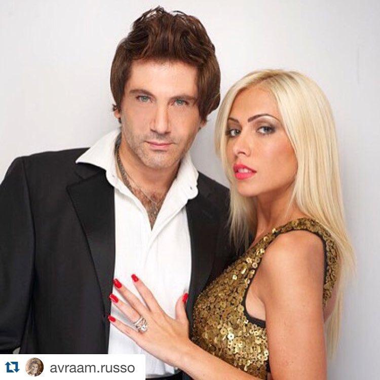 реальные фото авраама руссо с женой выглядит