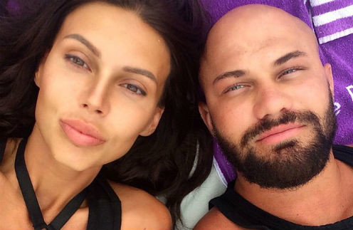 Джиган с супругой Оксаной Самойловой