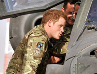Принц Гарри уничтожил лидера талибов