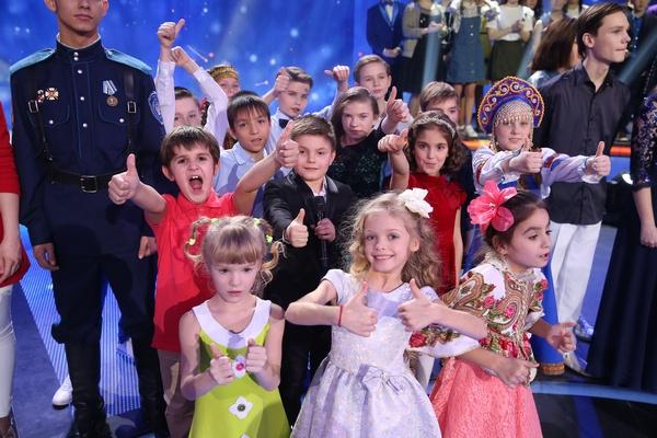 Юные артисты, принявшие участие в съемках шоу