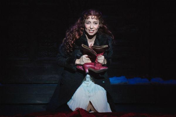 Елена Газаева на открытой репетиции мюзикла «Бал вампиров»