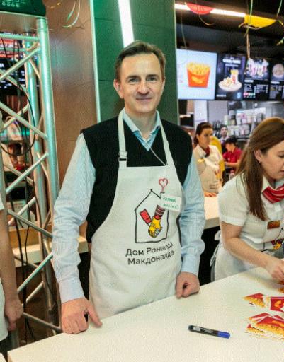 Алексей Семенов, генеральный директор Макдоналдс в России