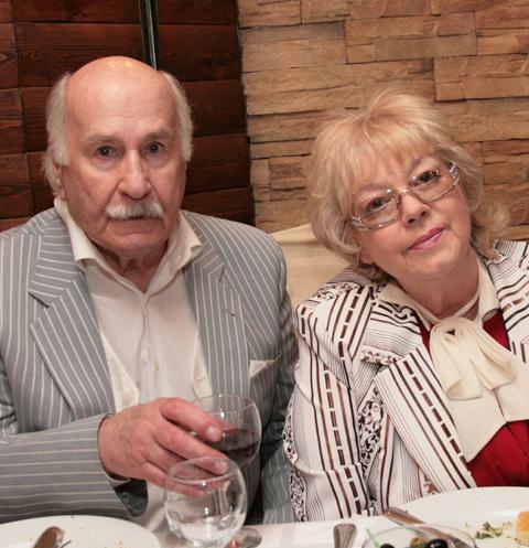 Владимир Зельдин и Иветта Капралова
