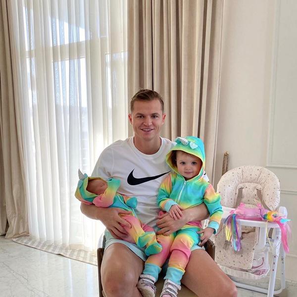 Два месяца назад у Тарасова и Костенко родилась дочь Ева
