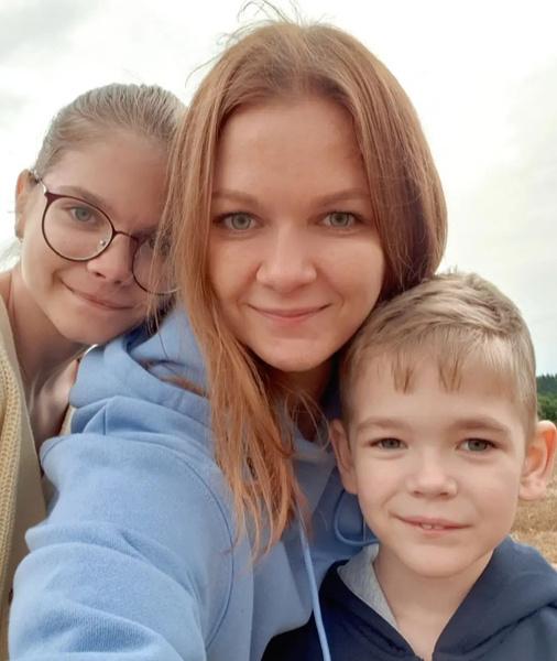 У Дарьи Бородиной двое детей