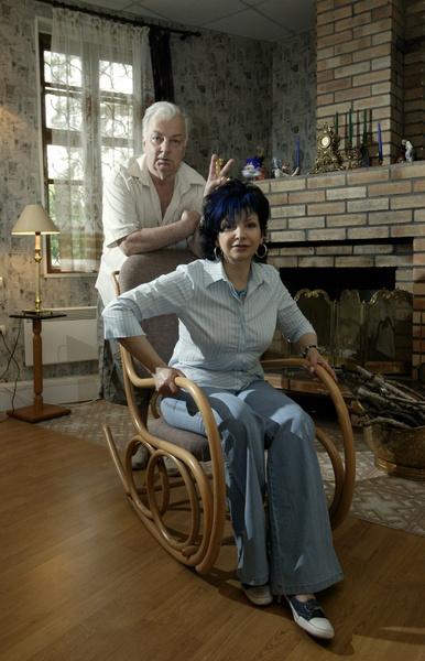 Бабаян прожила с Михаилом Державиным 37 лет