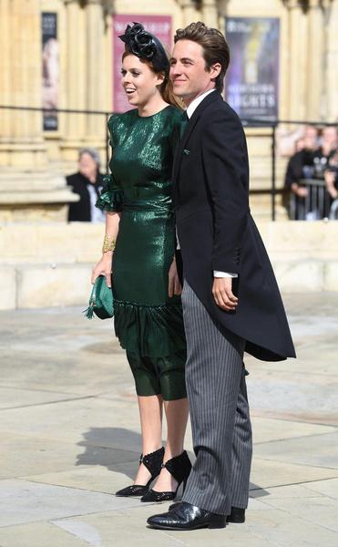 Принцесса Беатрис с мужем Эдорадо Мапелли-Моцци
