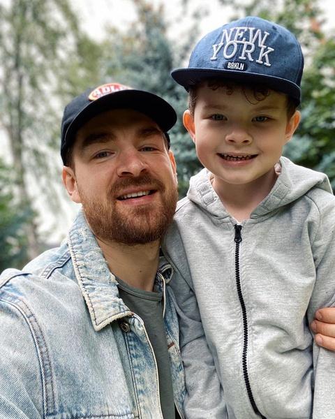 Сергей Мезенцев с сыном