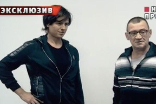 Певец Прохор Шаляпин и его отец Андрей Захарченков