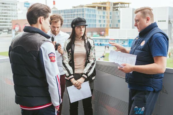 Катя чувствовала на съемках поддержку всей команды на съемках