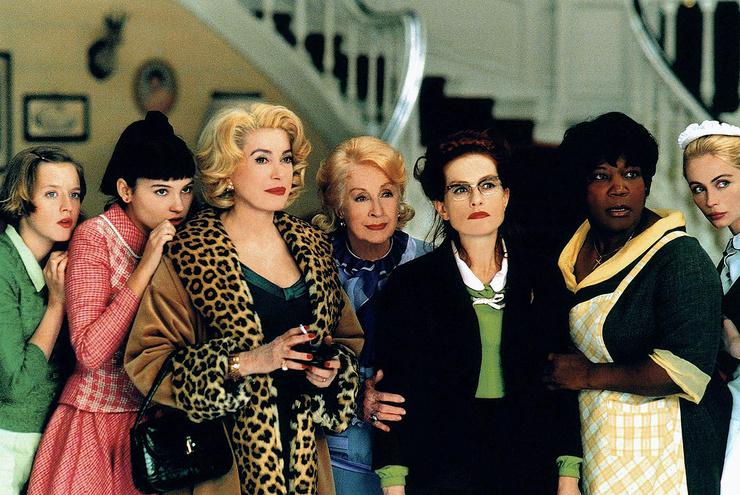 Катрин Денев в картине «Восемь женщин»