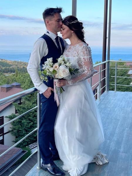 Анастасия Макеева с мужем Романом Мальковым