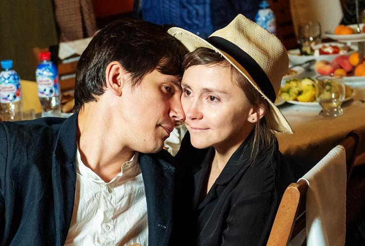 Бичевин с женой Марией